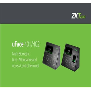 Contact Us for UFace402 Multi-Biometric Face Based Time Attendance And Access Control Termina